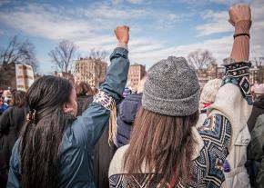 Standing up against sexism at the Women's March in Boston