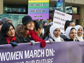 Taking to the streets in solidarity during the 2018 Women's Marches