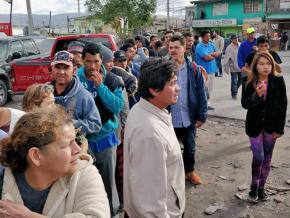 Finding support and solidarity at the Enclave Caracol in Tijuana, Mexico