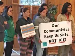 Activists mobilize against ICE terror in North Carolina