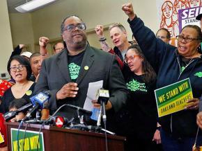 Oakland teachers build solidarity ahead of their planned strike