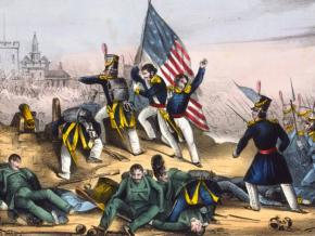 U.S. troops during the Mexican-American War